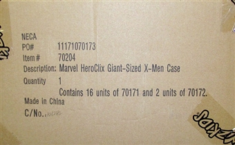 HeroClix Marvel Giant-Sized X-Men Booster Case (18 Ct.)