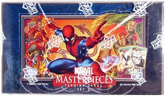 Marvel Masterpieces Series 3 Hobby Box (2008 Upper Deck)