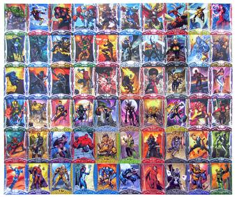 2014 Upper Deck Marvel Premier 60 Card Set - Limited to 199