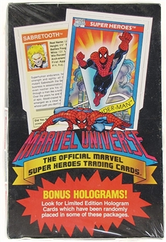 Marvel Universe Series 1 Wax Box (1991 Impel)