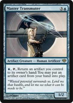Magic the Gathering Conflux Single Master Transmuter UNPLAYED (NM/MT)