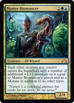 Magic the Gathering Gatecrash Single Master Biomancer FOIL