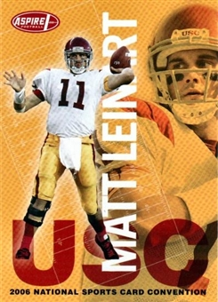 2006 Sage Aspire Matt Leinart Rookie National Exclusive - 100 Card Lot