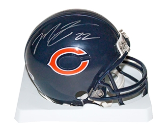 Matt Forte Autographed Chicago Bears Mini Helmet (PSA)
