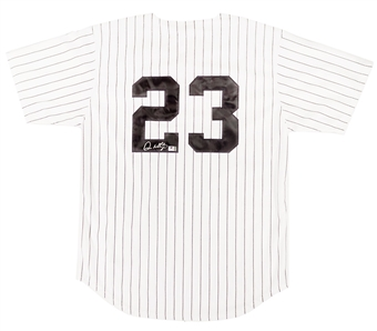 Don Mattingly Autographed NY Yankees Mitchell & Ness Rookie Home Jersey (GAI)
