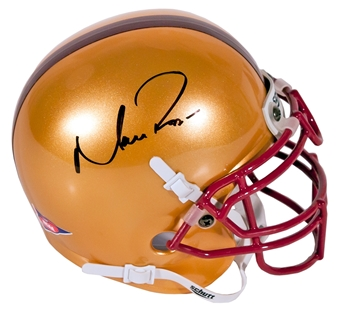 Matt Ryan Autographed Boston College Eagles Schutt Mini Football Helmet (Press Pass)