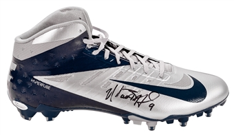 Matthew Stafford Autographed Detroit Lions Authentic Nike Hyperfuse Cleat (JSA)