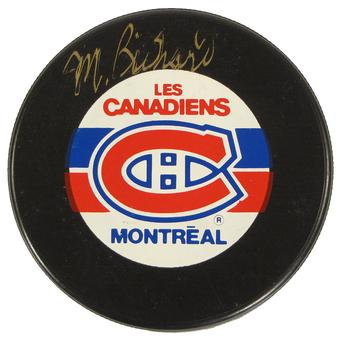 "Maurice ""Rocket"" Richard Autographed Montreal Canadiens Official Puck (JSA)"