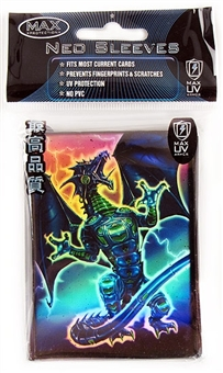 Max Protect Blue Robo Fury Dragon Deck Protectors 50 Count Pack (Lot of 3)