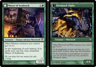Magic the Gathering Innistrad Single Mayor of Avabruck - Howlpack Alpha UNPLAYED (NM/MT)