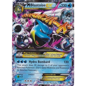 Pokemon X and Y Single M Blastoise EX - 30/146 - NEAR MINT (NM)