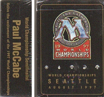 Magic the Gathering World Championship Paul McCabe Deck (1997)