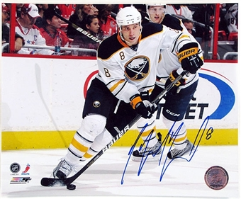 Cody McCormick Autographed Buffalo Sabres 8x10 Hockey Photo