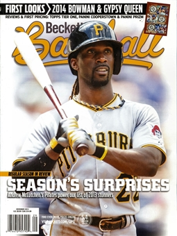 2013 Beckett Baseball Monthly Price Guide (#93 December) (McCutchen)