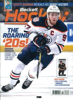 2016 Beckett Hockey Monthly Price Guide (#290 October) (Connor McDavid)