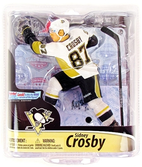 Sidney Crosby Pittsburgh Penguins McFarlane NHL Series 28 White Jersey Figure /2500