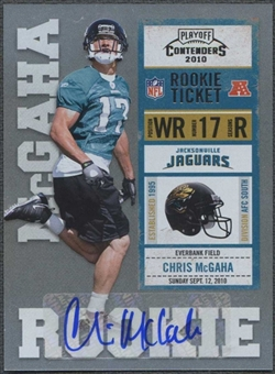 2010 Playoff Contenders #116 Chris McGaha /441 Rookie Autograph