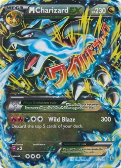 Pokemon XY Flashfire Single M Charizard EX 69/106 - NEAR MINT (NM)