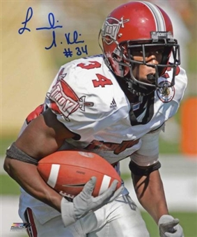 Leodis McKelvin Autographed Troy University Football 8x10 Photo