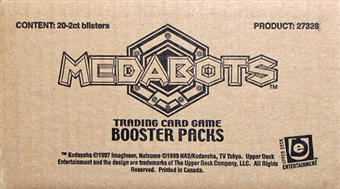 Medabots 20-Pack Box (2007 Upper Deck)