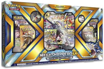 Pokemon: Mega Sharpedo EX Premium Collection Box
