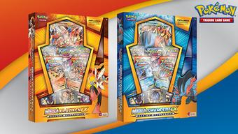 Pokemon Mega Blaziken-EX & Mega Swampert-EX Premium Collection 4-Box Case