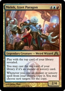 Magic the Gathering Dragon's Maze Single Melek, Izzet Paragon UNPLAYED (NM/MT) - 4x Playset