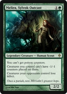 Magic the Gathering New Phyrexia Single Melira, Sylvok Outcast - NEAR MINT (NM)