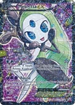 Pokemon Legendary Treasures Single Meloetta EX RC25/RC25 FULL ART - NEAR MINT (NM)