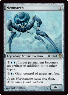 Magic the Gathering Archenemy Single Memnarch - NEAR MINT (NM)