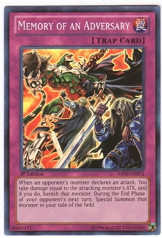 Yu-Gi-Oh Abyss Rising Single Memory of an Adversary Super Rare