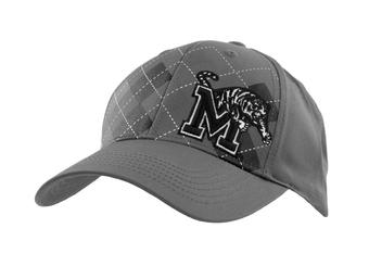 Memphis Tigers Top Of The World Tommy Gun Gray Adjustable Hat (Adult One Size)