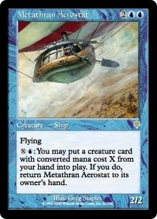 Magic the Gathering Invasion Single Metathran Aerostat UNPLAYED (NM/MT)