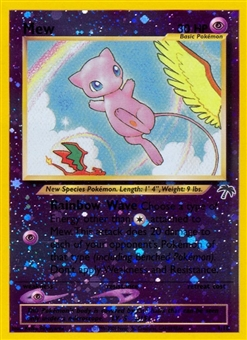 Pokemon Promo Southern Islands Single Mew Reverse Foil 1/18