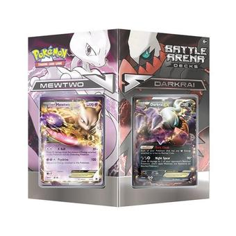 Pokemon Battle Arena Decks: Mewtwo vs. Darkrai Deck Box