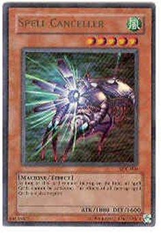 Yu-Gi-Oh Magician's Force Single Spell Canceller Ultra Rare (MFC-020)