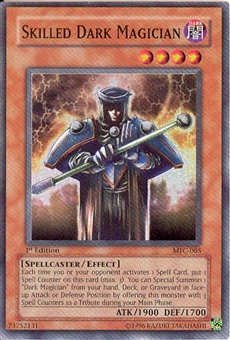 Yu-Gi-Oh Magician's Force 1st Edition Skilled Dark Magician Super Rare