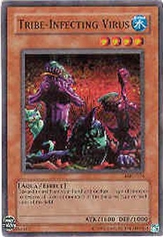 Yu-Gi-Oh Magician's Force Single Tribe-Infecting Virus Super Rare MFC-076 - SLIGHT PLAY
