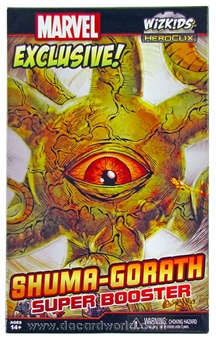 Marvel HeroClix Exclusive Promo Shuma-Gorath Super Booster Figure