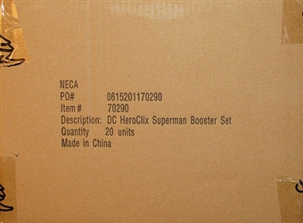 DC HeroClix Superman Booster Case (20 Ct.)