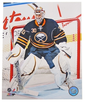 Ryan Miller Buffalo Sabres 8x10 Hockey Photo 2012/13 blue jersey retail
