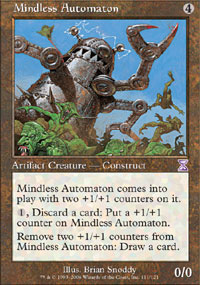 Magic the Gathering Exodus Single Mindless Automaton - NEAR MINT (NM)