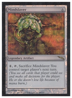 Magic the Gathering Mirrodin Single Mindslaver Foil