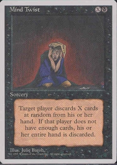 Magic the Gathering 4th Edition Single Mind Twist - NEAR MINT (NM)