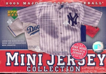 2005 Upper Deck Mini Jersey Collection Baseball Box