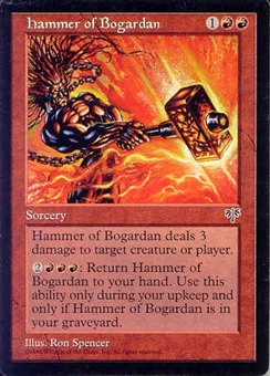 Magic the Gathering Mirage Single Hammer of Bogarden - NEAR MINT (NM)