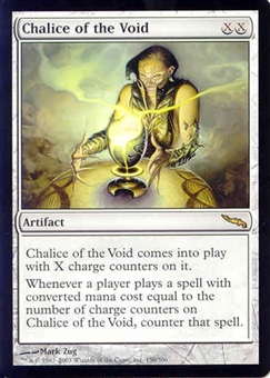 Magic the Gathering Mirrodin Single Chalice of the Void - SLIGHT PLAY (SP)