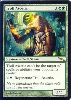 Magic the Gathering Mirrodin Single Troll Ascetic - NEAR MINT (NM)