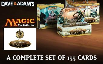 Magic the Gathering Mirrodin Besieged A Complete Set - NEAR MINT / SLIGHT PLAY (NM/SP)