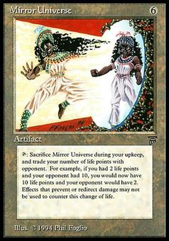Magic the Gathering Legends Single Mirror Universe - MODERATE PLAY (MP)